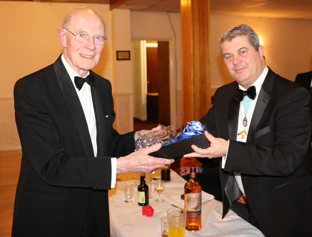 Roger Ford Celebrates 50 years at Sancroft Lodge