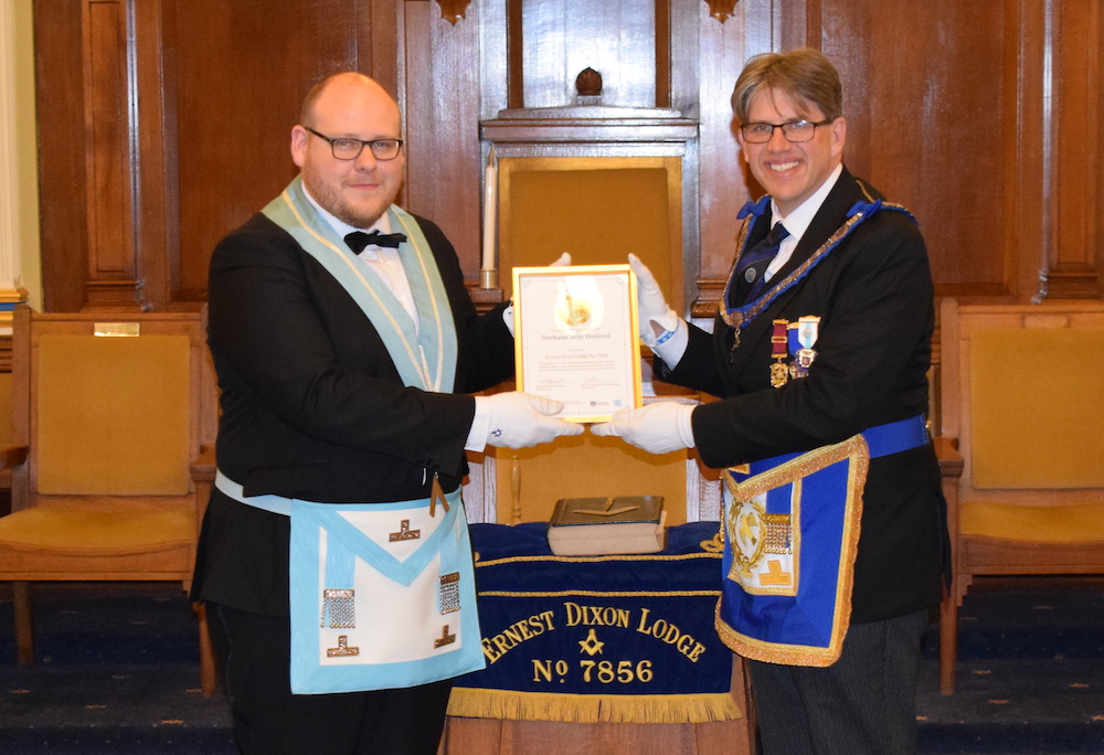 Golden Celebration at Ernest Dixon Lodge