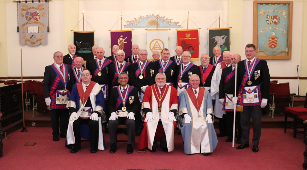 A Golden Celebration in Washington Royal Arch Chapter
