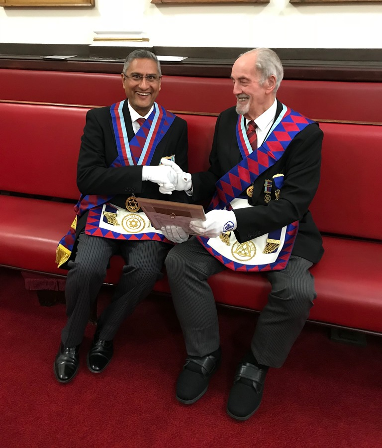 Frederick Ernest Dunmore Celebrates 50 years in the Royal Arch