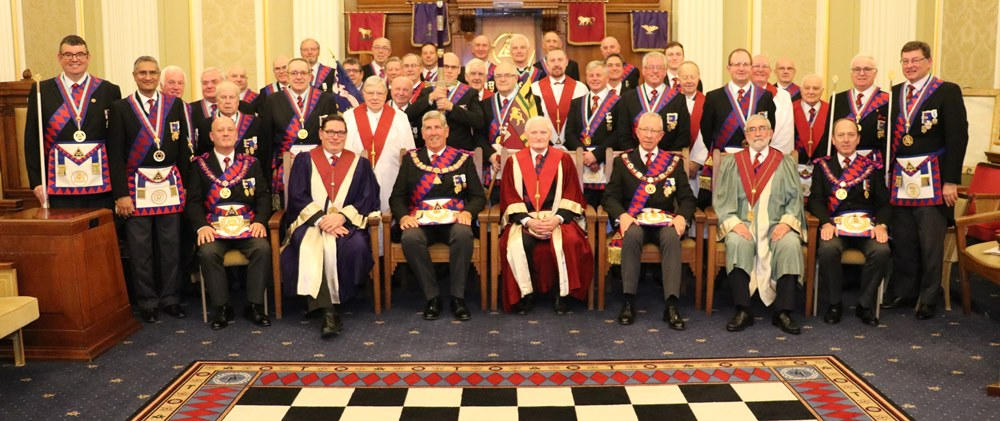 Full Team Visit to Chapter of Strict Benevolence No. 97