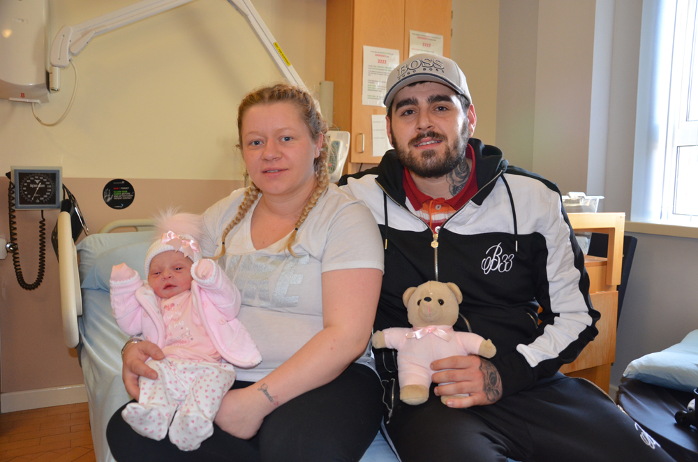 New Year joy as delighted parents welcome little bundles of joy at Sunderland Royal Hospital