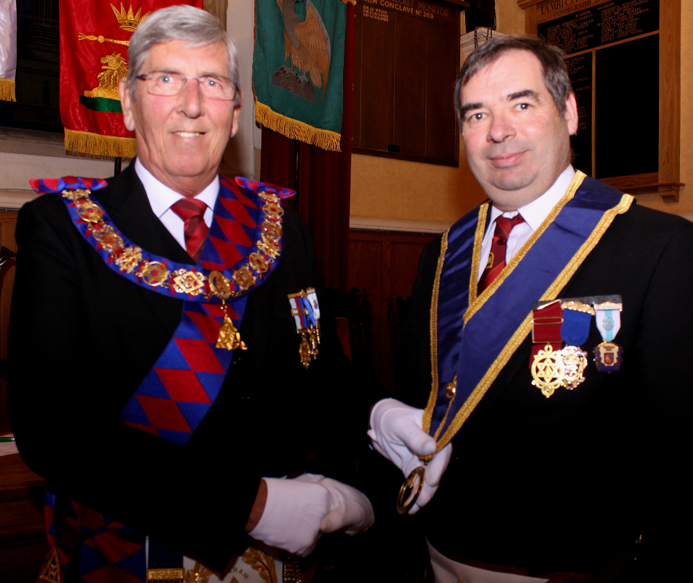 Grand Superintendent strengthens that bond with the Craft and Chapter.
